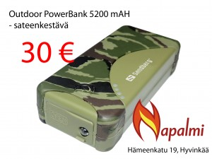 outdoor powerbank 5200mah