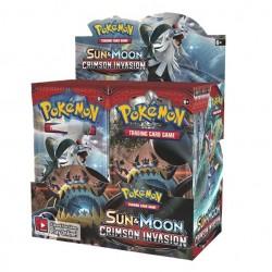 Pokemon SM4: Sun & Moon Crimson Invasion Booster Display Box