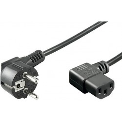 MicroConnect Power Cord CEE 7/7 - C13 1.8m - Virtajohto