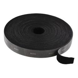 DELTACO Tarranauha 20mm, 5m, musta