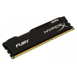 KINGSTON HYPERX FURY BLACK 4GB 2400MHZ