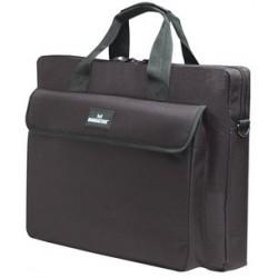 """Manhattan 15.4"""" Notebook Briefcase Black"""