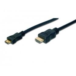 Assmann HDMI Adapter Cable HDMIa(m)-miniHDMIc(m) 2m
