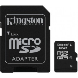 Kingston 8GB MICRO SD Class 4