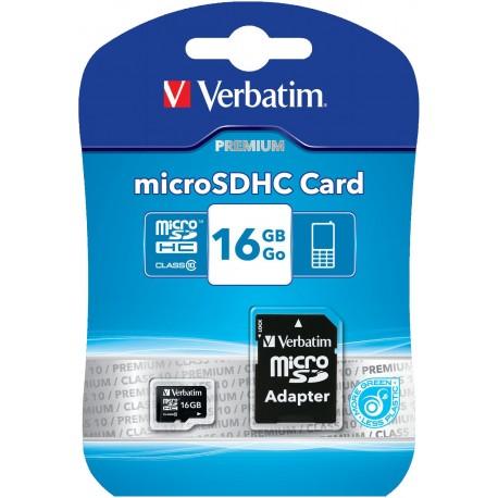 Verbatim 16 GB SD Micro (SDHC) Class 10