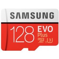 SAMSUNG 128GB MICRO SD EVO+ W ADAPT