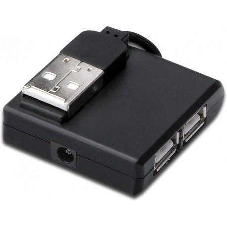 MicroConnect USB 2.0 High-Speed Hub 4-Port