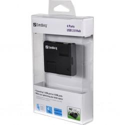 Sandberg 4 Ports USB 2.0 HUB