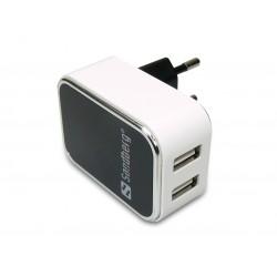 Sandberg AC Charger Dual USB 2.4+1A EU