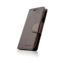 Xperia Z1 Compact Sonata Diary suojakuoret (Ruskea)