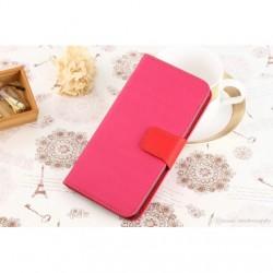 Honor P8 Lite Wallet book suojakuoret (Pinkki)