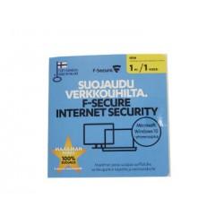 F-Secure Internet Security OEM (1 vuosi, 1 tietokone)
