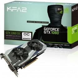 KFA2 GeForce GTX 1060 OC 6GB aktiivinen PCIe 3.0 x16