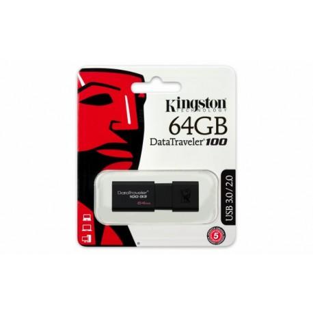 Kingston DataTraveler100 64GB USB 3.1/3.0/2.0