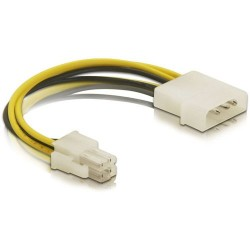 DeLOCK Adapterikaapeli 4-pin male to Molex 4-pin